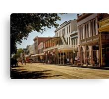 Old Sacramento Canvas Print