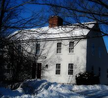 Colonial House: Battles Rd, Westminster MA Orton by Rebecca Bryson