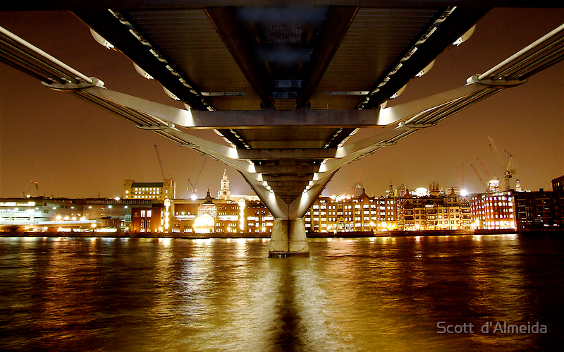 UNDER THE BRIDGE by Scott  d'Almeida