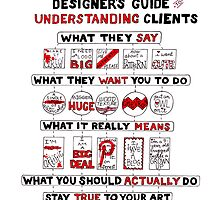 Designer's Guide to Understanding Clients by madebymarzipan