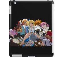 Fairy Tail Lucy and Spirits iPad Case/Skin