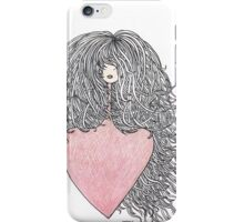 Hair and heart iPhone Case/Skin