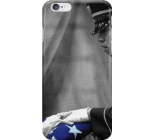 Courtesy Red White And Blue iPhone Case/Skin