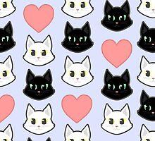 Cat Love by Jewelbird