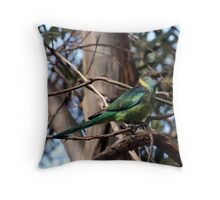 Mallee Ringneck Throw Pillow