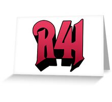 R41 Greeting Card