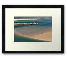 Nambucca Breakwall Framed Print