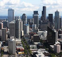 Downtown Seattle by Julia Washburn