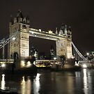 tower bridge by jon  daly