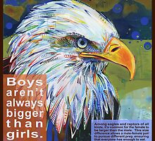 Queen of the sky (Bald eagle) by Gwenn Seemel