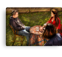 The Skeptic Canvas Print