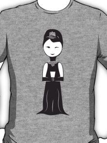 Audrey Hepburn as Holly Golightly Illustration T-Shirt