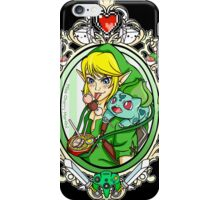 Link and Bulbasaur Tattoo iPhone Case/Skin