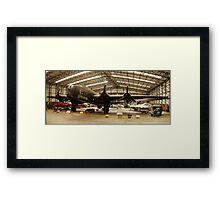 HP Halifax Bomber @ YAM Framed Print