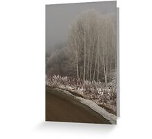 Olalla frost Greeting Card