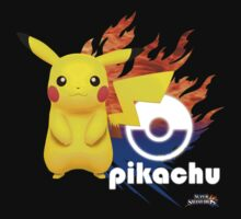 Super Smash Bros - Pikachu by phoenix529