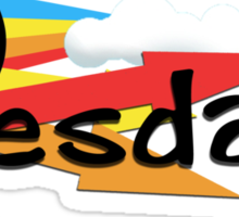 Tuesday Sticker