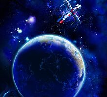 Blue Space by christinaree