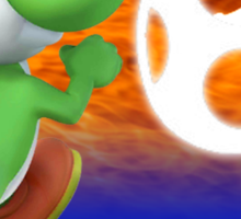 Super Smash Bros - Yoshi Sticker