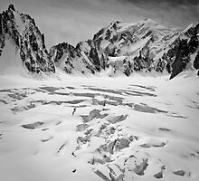 Mt Blanc - Vallée Blanche by Quentin Jaud