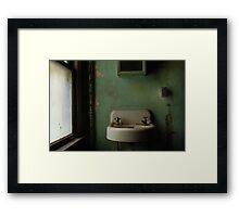 Publix Hotel - Abandonded Framed Print