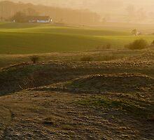 Hazy Landscape II by Lars Clausen