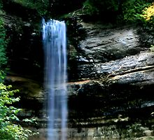 Falls at Painted Rocks. MI by Dianna Tilley