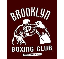 Brooklyn Boxing Club Photographic Print