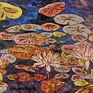 Waterlilies VI by Alexandra Felgate
