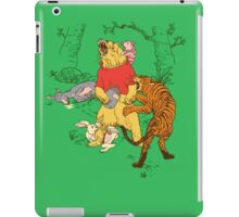Winnie the Pooh bear gone crazy iPad Case/Skin