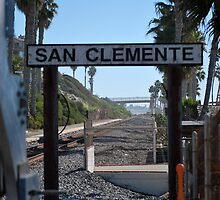 San Clemente Train Stop by polylongboarder