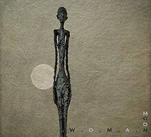 Woman over moon... by Julian Escardo