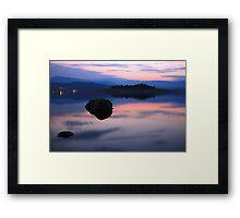 Lake Jindabyne, Australia Framed Print
