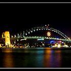 Sydney Harbour panorama by Lisa Lent