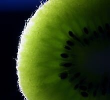Kiwi with backlighting by Ted Widen