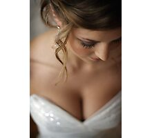 nice day for a white wedding Photographic Print