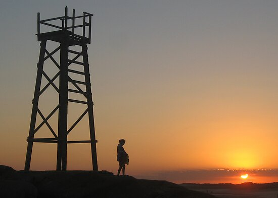 Jordan at Redhead Tower by Cheryl Parkes