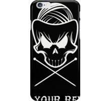 Knit Your Revolt 1 iPhone Case/Skin