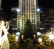 Rockefeller Plaza by Adria Bryant