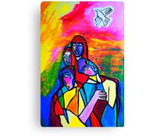 The White Dove Canvas Print
