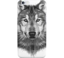 Wolf Head iPhone Case/Skin