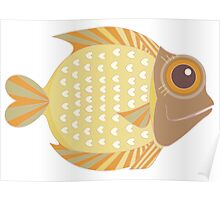 Friendly Fish Poster