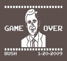 Game Over For Bush by artistman