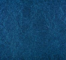 Blue stained cardboard texture abstract by Arletta Cwalina