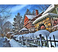 Bright winter day Photographic Print