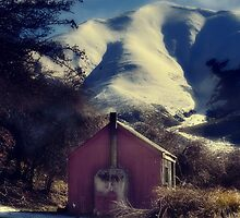 Red Hut, White Smoke by Peter Kurdulija
