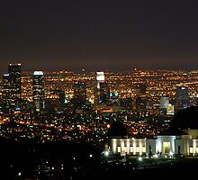 Griffith Park Observatory Los Angeles by John Mckinney