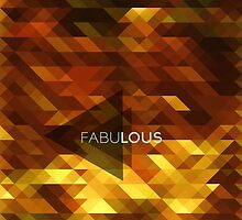 Fabulous with a sparkly,golden,luscious background by byzmo