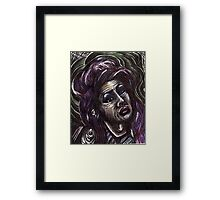 Price of Fame? - Amy Winehouse Framed Print