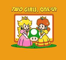 Two Girls One Up by Andrew Gouda